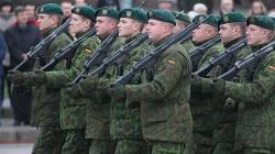 Литва отказалась от профессиональной армии