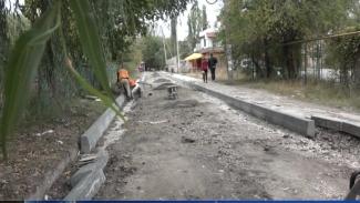 Внутриквартальная улица Стрыйская ремонтируется капитально впервые за многие годы