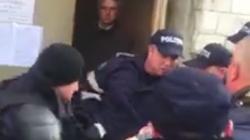 Полиция применила силу в отношении сторонников Усатого