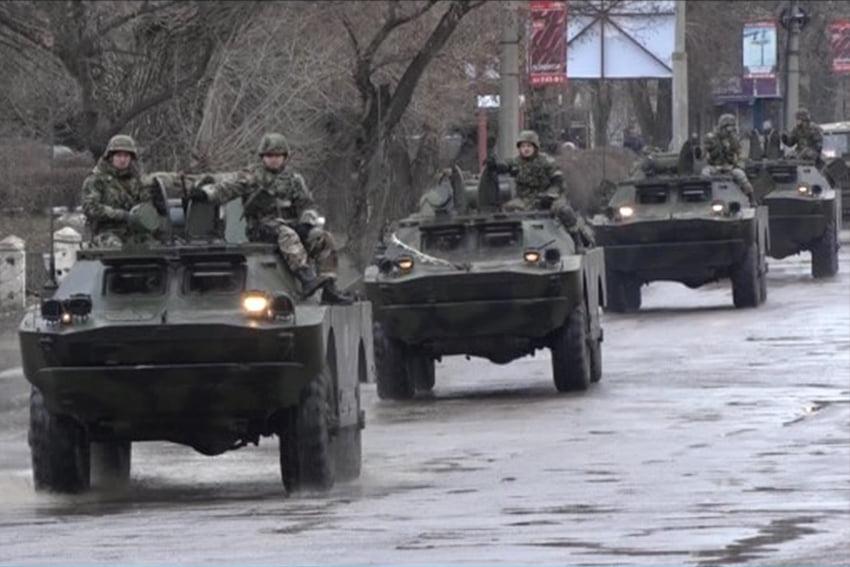Сегодня в час пик по Минску снова пройдет колонна техники