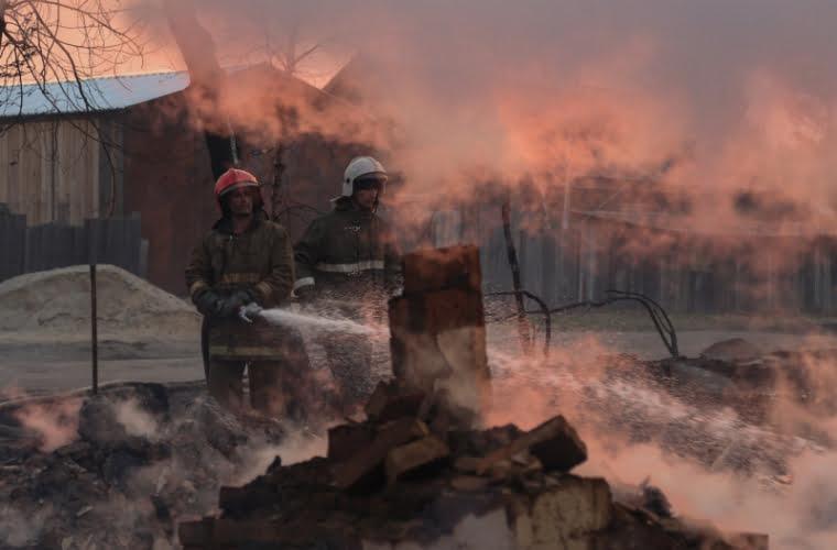 incendiu în Rostov-pe-Don