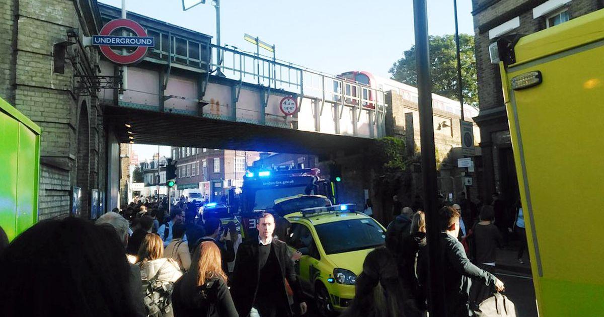 произошел взрыв в Лондоне