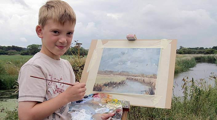 картины мальчика Кирон Уильямсон