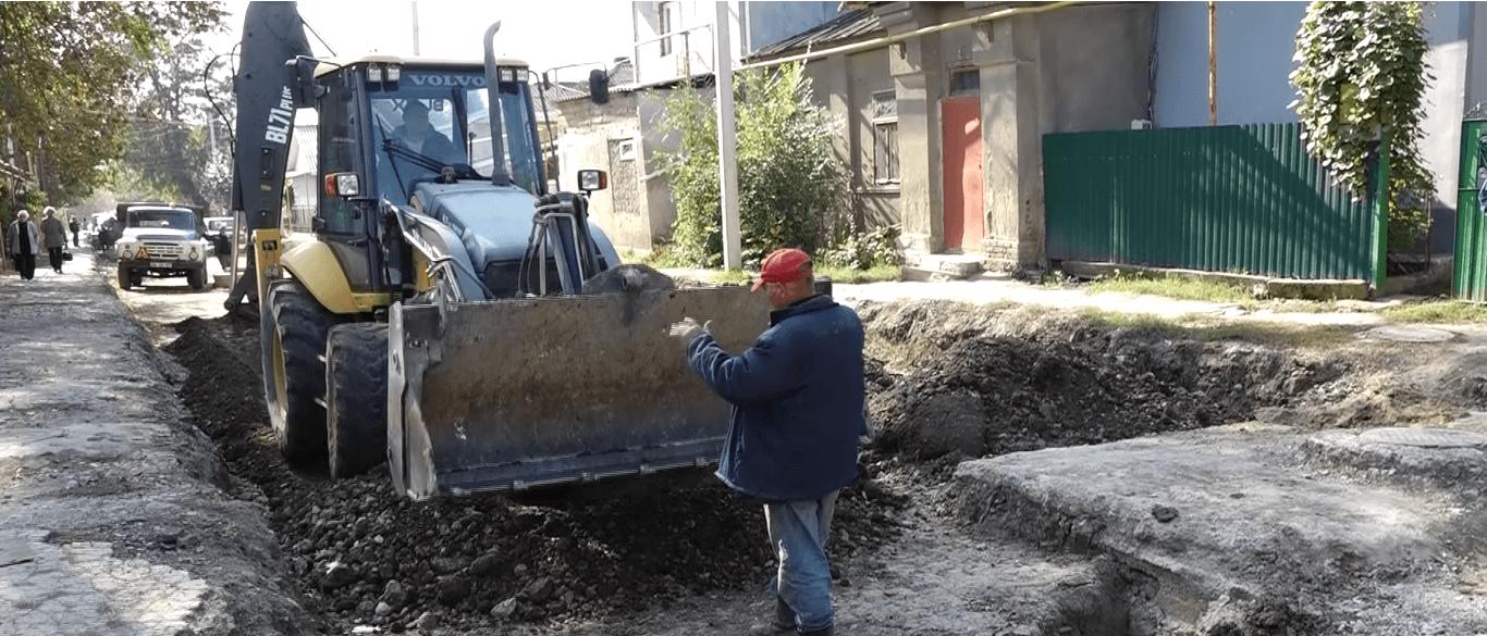 ремонт дорог в Бельцах