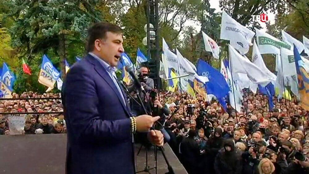 cоратники Саакашвили